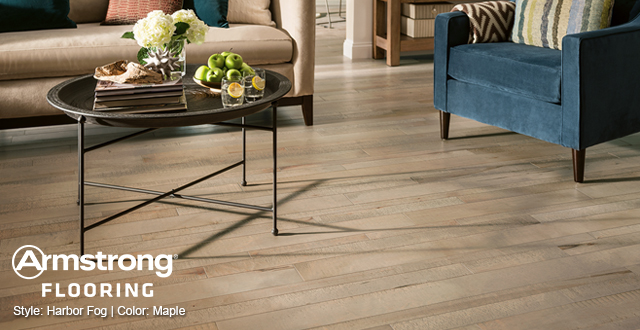 Armstrong Flooring Style: Harbor Fog | Color: Maple